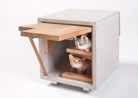 standard architecture cat house
