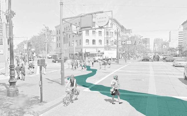 street painting vanished waterway
