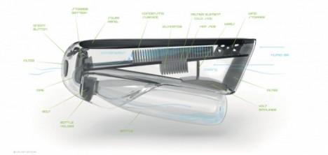 water bottle design prototype