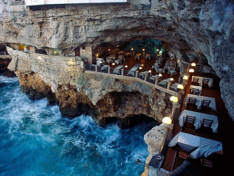 Amazing Restaurants Cave Italy 1