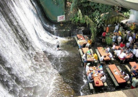 Amazing Restaurants waterfall 1