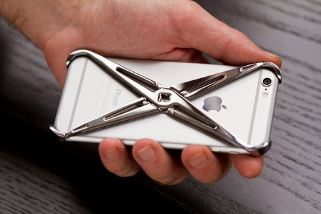 Exoskeleton design iphone case 1