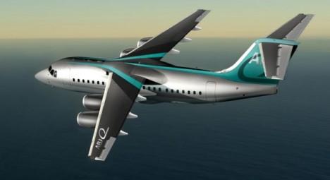 James Bond Avro Business Jet 1