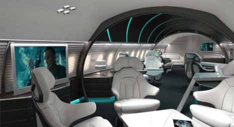 James Bond Avro Business jet 2