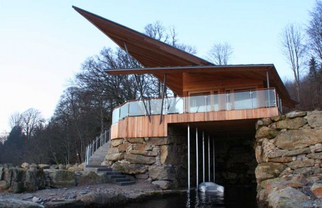 James Bond Boat House large