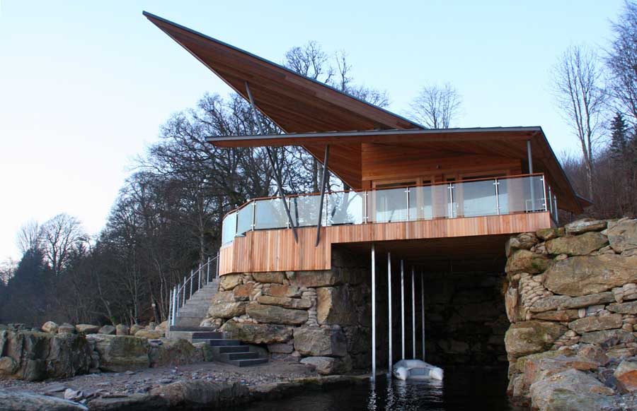 James Bond Boat House large