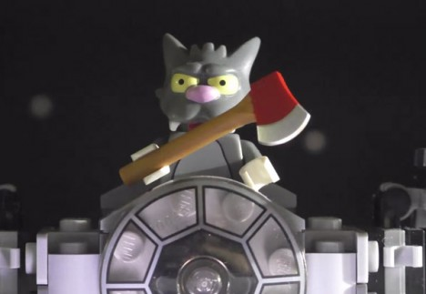Star Gore Simpsons Lego 3