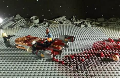 Star Gore Simpsons Lego 4