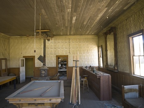 pool hall, Bodie State Park