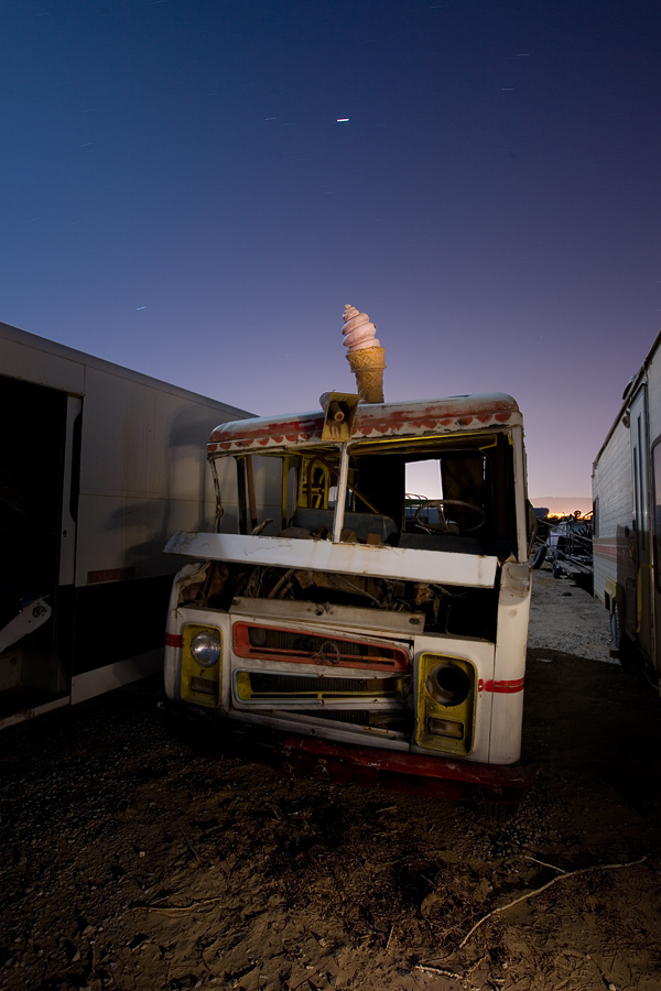 abandoned ice cream truck 1