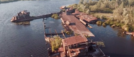 abandoned waterfront
