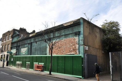 abandoned_Camden_Snooker_Club_London_1