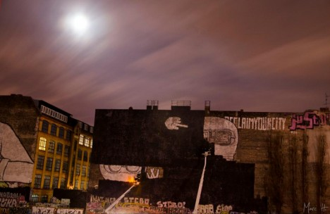 Blacking Out BLU: World Famous Berlin Mural Erased in Protest