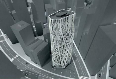 exoskeleton design fibrous tower 1