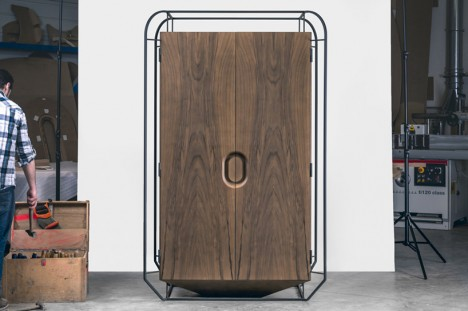 exoskeleton design furniture 1