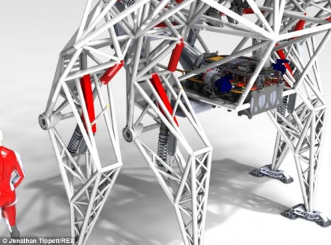exoskeleton design robot vehicle 2