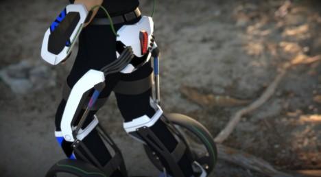 exoskeleton design wearable vehicle 2