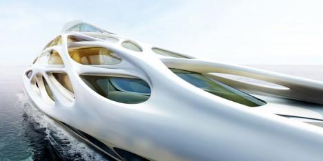 exoskeleton design zaha hadid yacht 2
