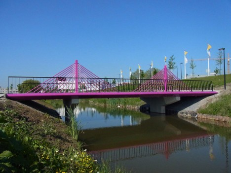 fictional bridge suspended structure