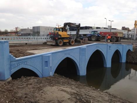 fictional bridges being built