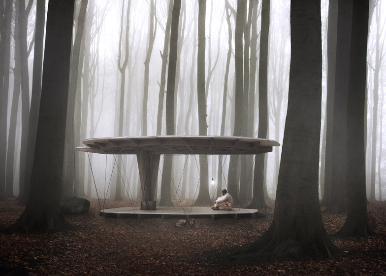 forest pavillion for sweden
