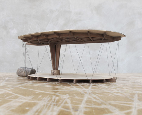forest retreat structure model