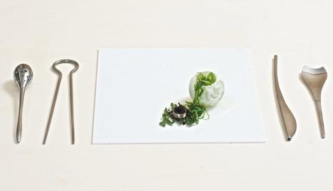 fungi plastic utensil set
