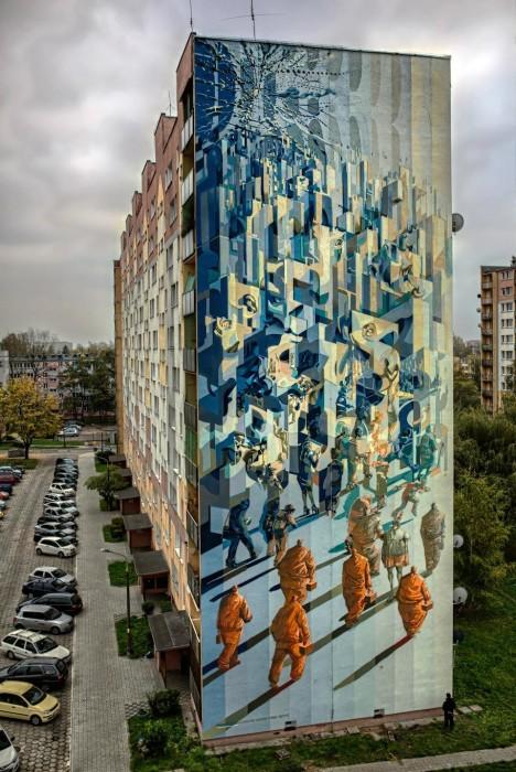 geometric murals 11
