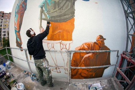 geometric murals 7