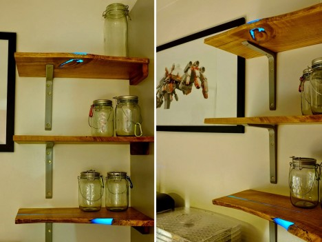 glow shelf final product