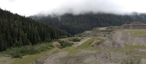 kisault deserted mining area