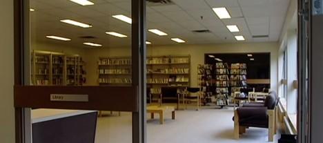 kitsault deserted library room