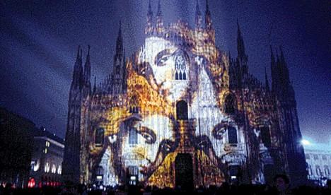 light art projection buroni 1