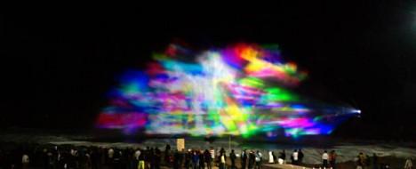 light art projection usman haque