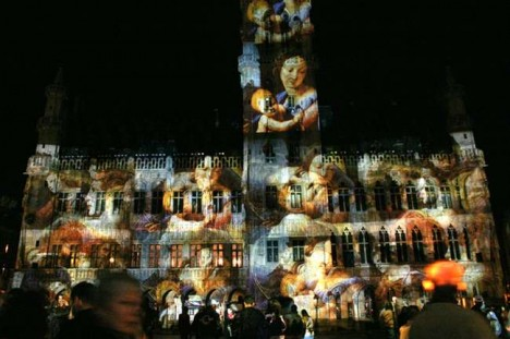 light art projections buroni 3