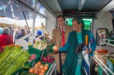 mobile food desert vehicle