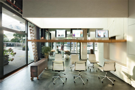 Share broker office design