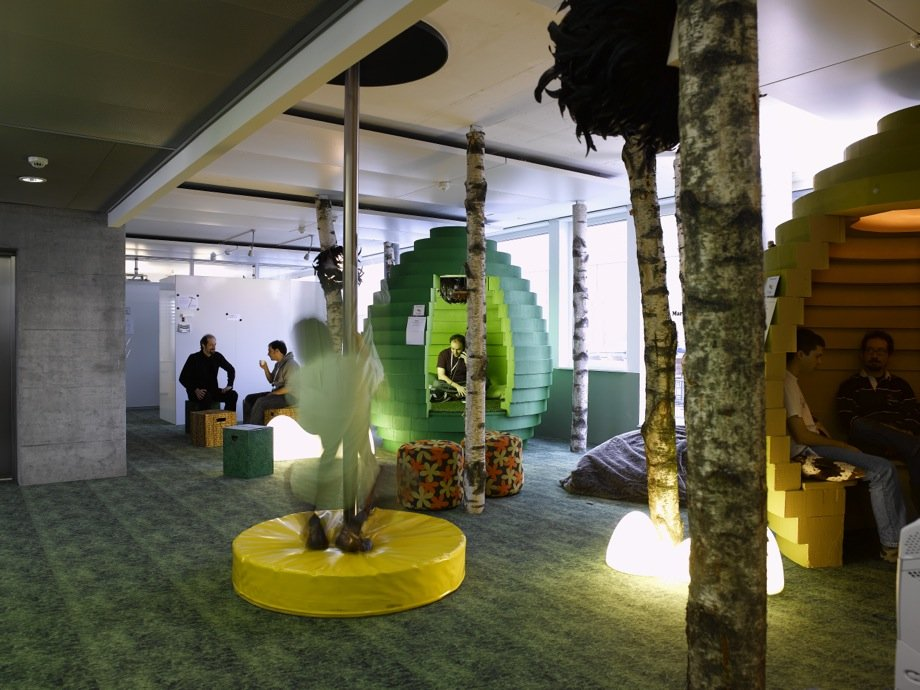 Odd Offices 13 Wacky Outside The Box Workspace Designs