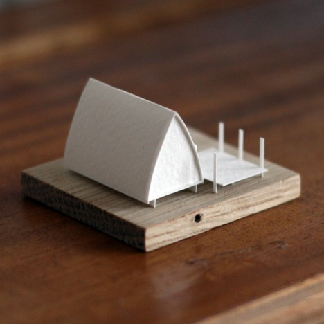small craft paper model