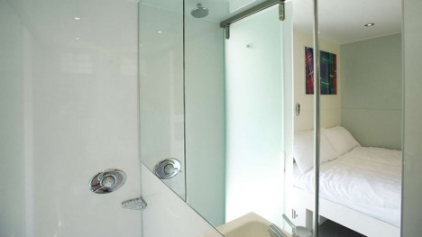snoozebox door room divider