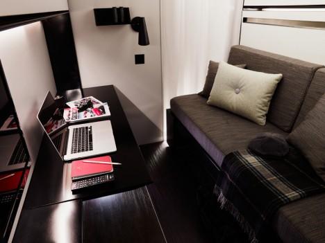 snoozebox fashionable interior design