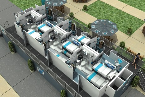 snoozebox interior module design