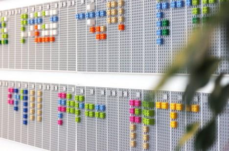 strange LEGO calendar