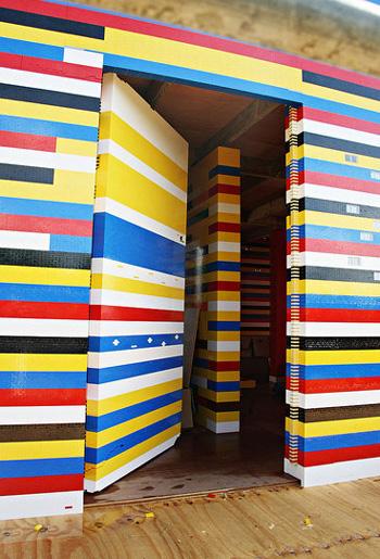 strange LEGO house 3