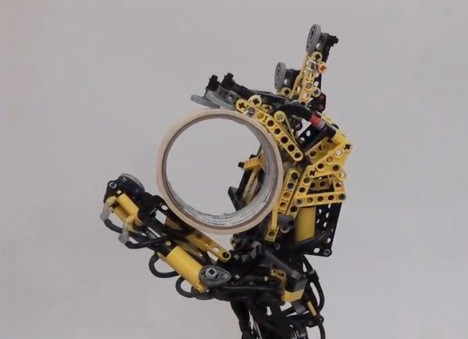 strange LEGO prosthetic arm 1