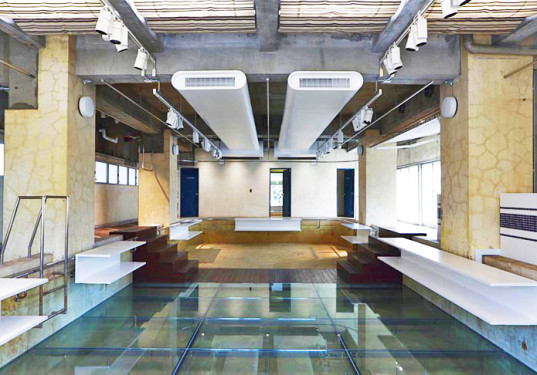 Shop In A Swimming Pool Neglected Space Turned Into A