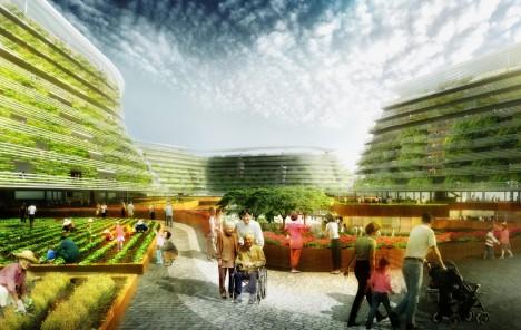 urban farm design concept