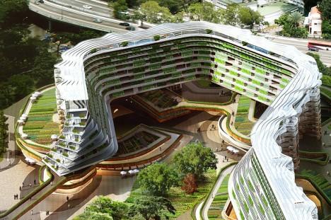 urban farm terrace plan