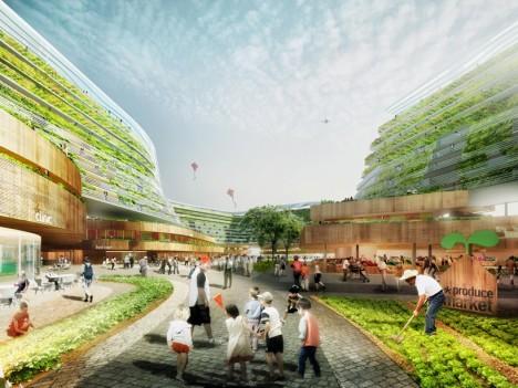 urban farm walkway singapore