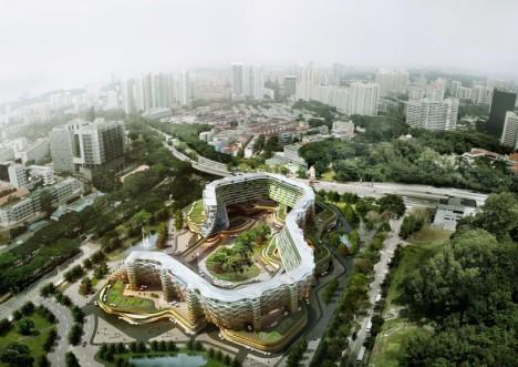 urban farming city concept